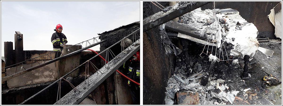 عملکرد سازمان آتش نشانی