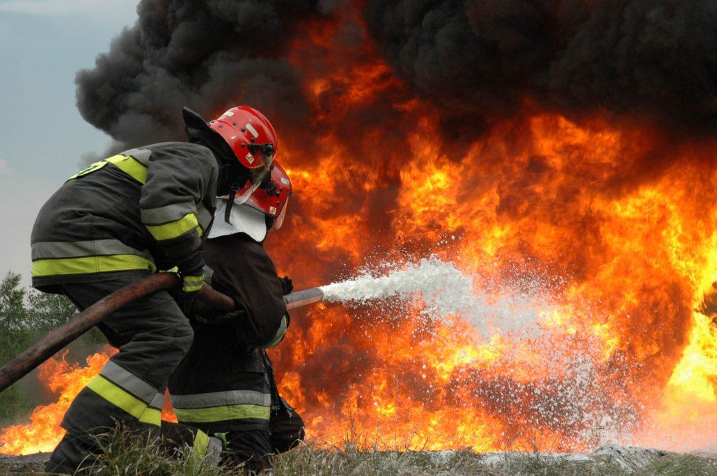 شغل پر مخاطره ی آتش نشانی