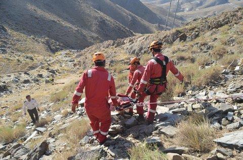 لینک گروه نجف اباد مرگ دختر جوان بر اثر سقوط از کوه در ارتفاعات شمالی نجف ...