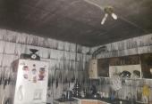 حریق منزل مسکونی و نجات کودک 5ساله توسط آتش نشانان