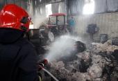 از چاه قاتل تا حریق سنگین کارخانه تولید موکت در شهرک صنعتی