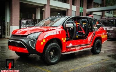 گالری از جدیدترین و جالب ترین خودروهای آتش نشانی