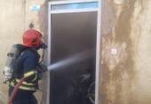 نجات مرد53 ساله از حریق منزل مسکونی