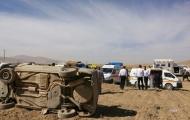 واژگونی خودروی سواری در سمیرم ۵ مصدوم برجای گذاشت