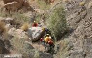 نجات کوهنورد از ارتفاعات بویینمیاندشت