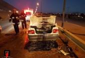 نشت بنزین باعث آتش سوزی شد