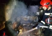 بخاری روشن سبب آتشسوزی منزل مسکونی در نجف آباد شد