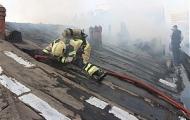 نجات جان دو کارگر در آتش سوزی تولیدی پوشاک