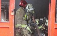 مغازه سمساری در آتش سوخت