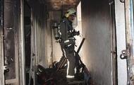 نجات 11 شهروند از میان آتش و دود در ساختمان قدیمی