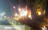 ۱۵ مصدوم در آتشسوزی چالوس - پسر قهوهخانه پدر را به آتش کشید