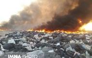 برخی برای تسویه حساب با شهرداری زبالهها را آتش میزنند