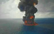 غرق کامل کشتی سانچی - امکان خارج کردن اجساد دریانوردان وجود ندارد