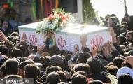 مردم اصفهان شهدای هوانیروز را تا بهشت بدرقه کردند