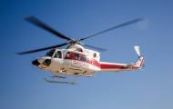 سقوط یک فرد از بالگرد هلالاحمر در شوش