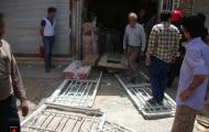 حادثه ی انفجار گاز مایع در مغازه ای یک مصدوم برجای گذاشت