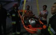 سقوط در کانال آب،مصدومیت مرد جوان را رقم زد