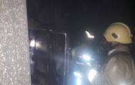 آتش سوزی منزل مسکونی واقع درخیابان طالقانی امیرآباد