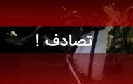 کشته و زخمی شدن دو جوان در حادثه تصادف خودروی پژو پارس با یک دستگاه تریلی