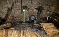حریق کارگاه کندو سازی واقع در صالح آباد