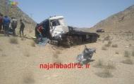 برخورد دو دستگاه تریلر در بزرگراه شهید کاظمی یک مصدوم بر جا گذاشت