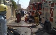 کپسول های گاز مایع منزل و خودرو را به آتش کشید و صاحب خانه را راهی بیمارستان کرد