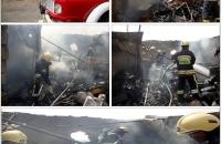عملکرد سازمان آتش نشانی و خدمات ایمنی نجف آباد در اردیبهشت97