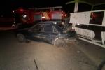 دو مصدوم در اثر برخورد خودروی سواری آردی با ایستگاه اتوبوس