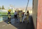 برگزاری مسابقات عملیات ورزشی آمادگی جسمانی آتش نشانان ایستگاه شماره 4 (ویلاشهر)