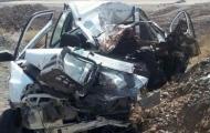 مرگ راننده ۲۰۶ در سقوط به دره