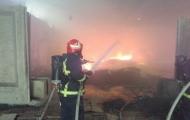 آتشسوزی بازار قزوین مهار شد
