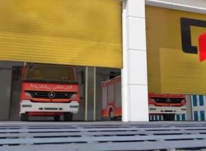 تعقیب خودروهای آتش نشانی